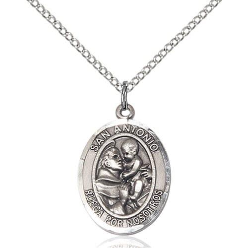 Sterling Silver San Antonio Pendant