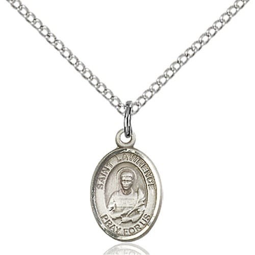 Sterling Silver St. Lawrence Petite Pendant