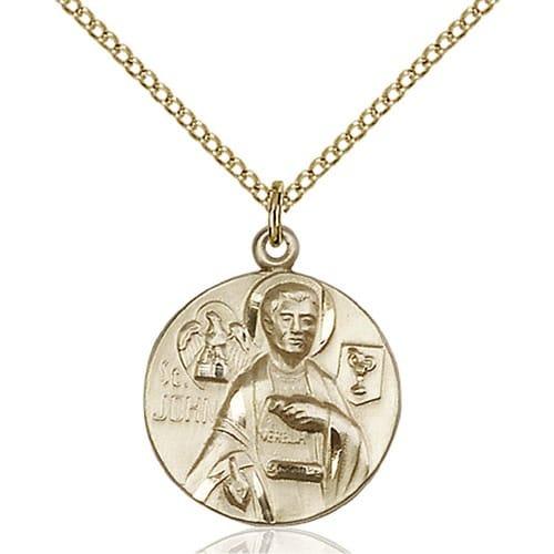 14kt Gold Filled St. John the Evangelist Pendant 2508373
