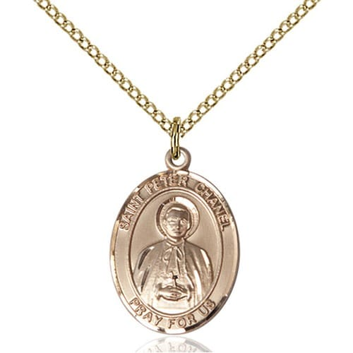 14kt Gold Filled St. Peter Chanel Pendant