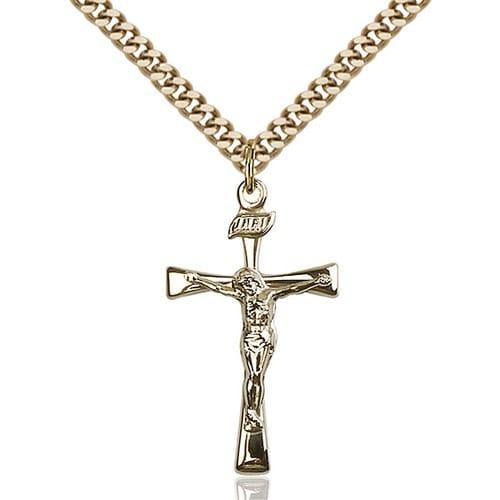 14kt Gold Filled Maltese Crucifix Pendant
