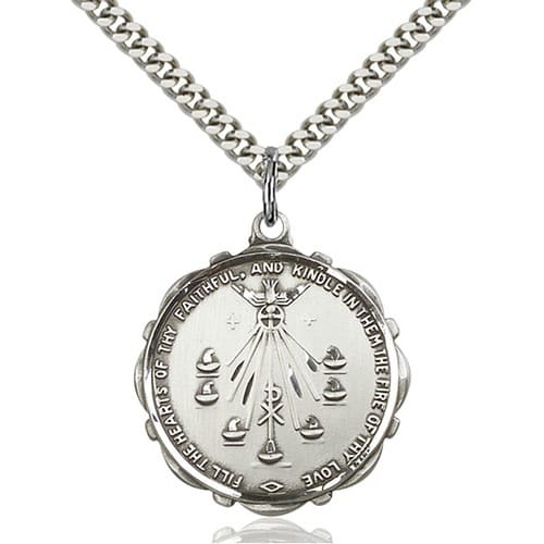 Sterling Silver Seven Gifts Pendant