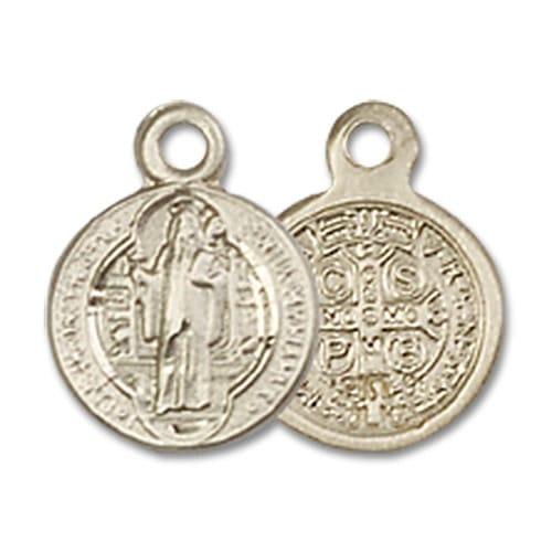 14kt Gold St. Benedict Medal