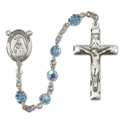 SS Aqua Blue March St. Teresa of Avila Rosary