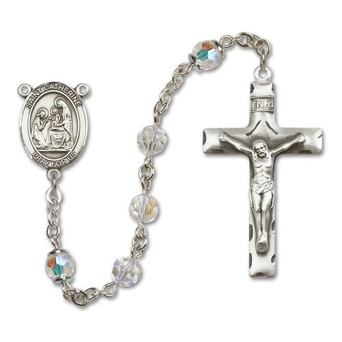 SS Crystal April St. Catherine of Siena Rosary