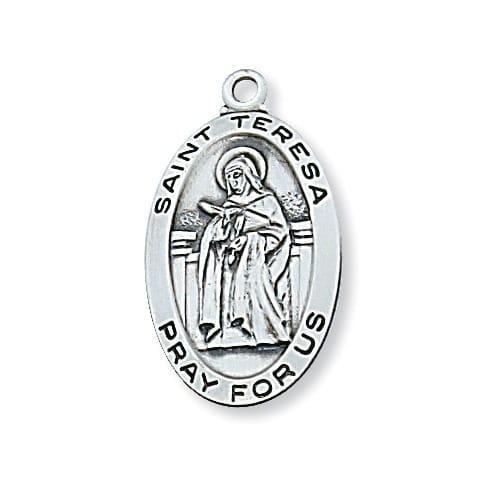 Sterling Silver St. Teresa of Avila Pendant