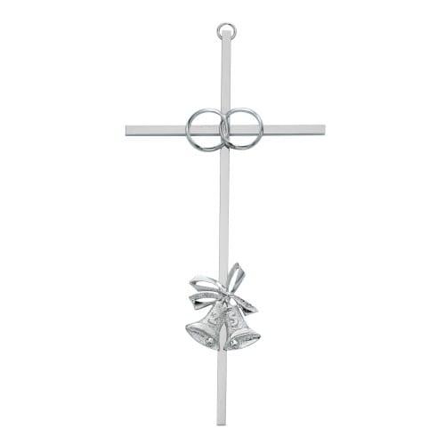 "25th Anniversary Aluminum Cross 8"""