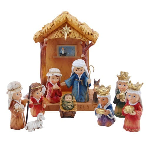 Children's Nativity Set, 11 pc