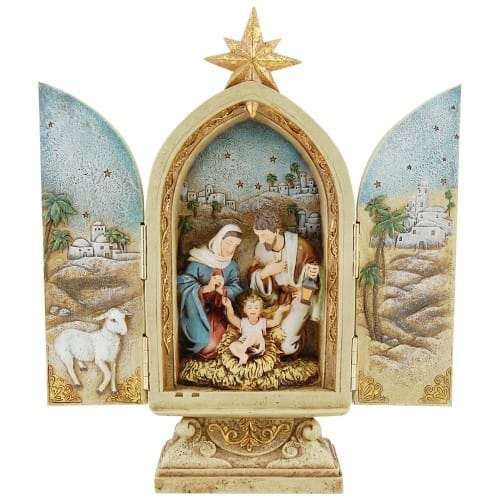 Holy Family Nativity Triptych