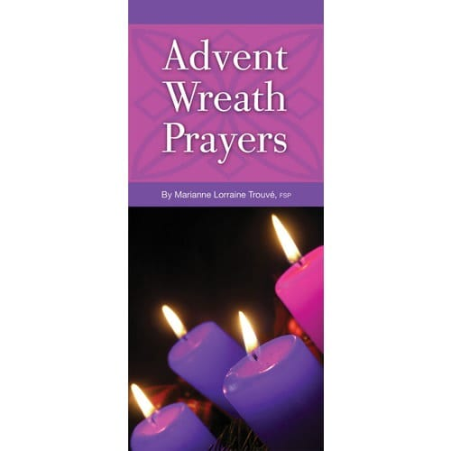 Advent Wreath Prayers Pamphlet