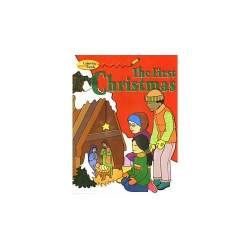 First Christmas Coloring and Activity Book