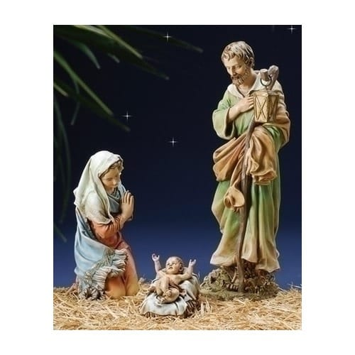 Joseph's Studio Nativity Set - 3 pieces - 27.5 inch