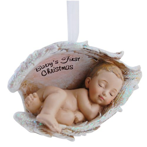 Joseph's Studio Baby's First Christmas Ornament