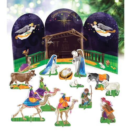 Nativity Play Scene Kit for Kids