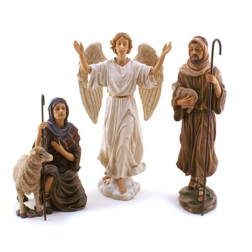 Real_Life_Nativity_Set_Shepherds_&_Angel_-_Deluxe