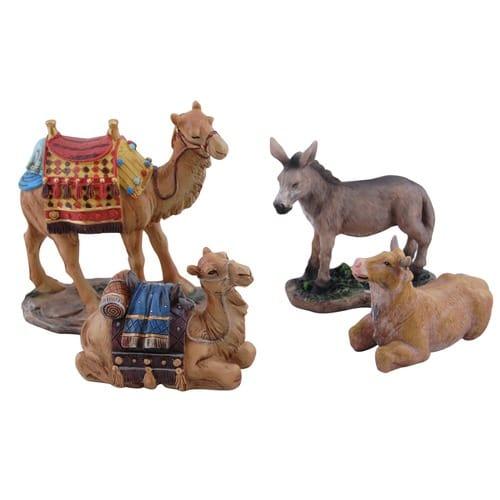 "Real Life Nativity Set Animals - 7"" Scale"
