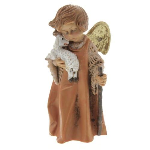 "Fontanini Angel with Lamb Nativity Figurine 7.5"" Scale"