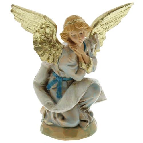 "Fontanini Kneeling Angel Nativity Figure 5"" Scale"