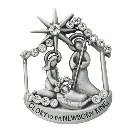 Nativity Pin