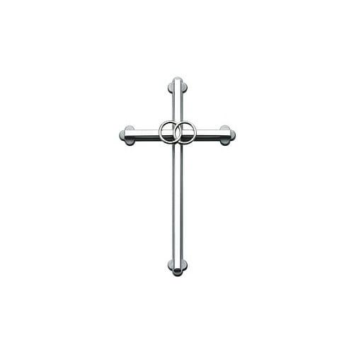 Silver Wedding Cross - 8 inch