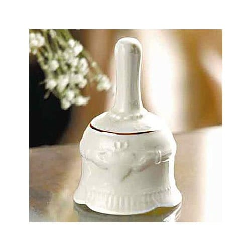 Belleek Claddagh Make-up Bell