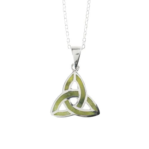 Connemara Marble Trinity Knot Pendant