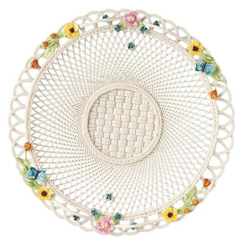 Gerbera Butterfly Plate Basket