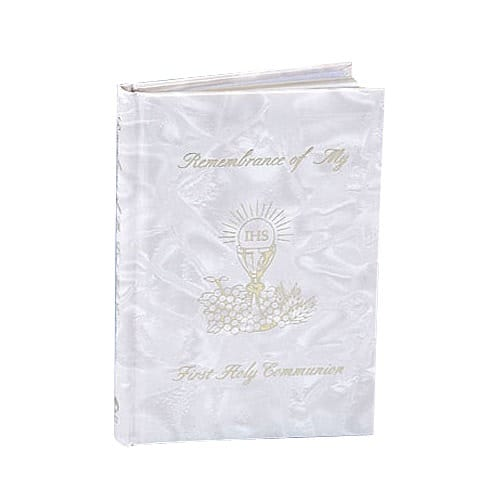 Marian Children's Mass Book - White Pearlized Cover