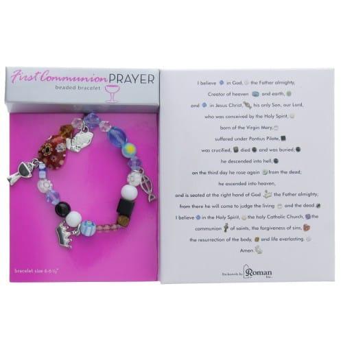 First Communion Story Bracelet