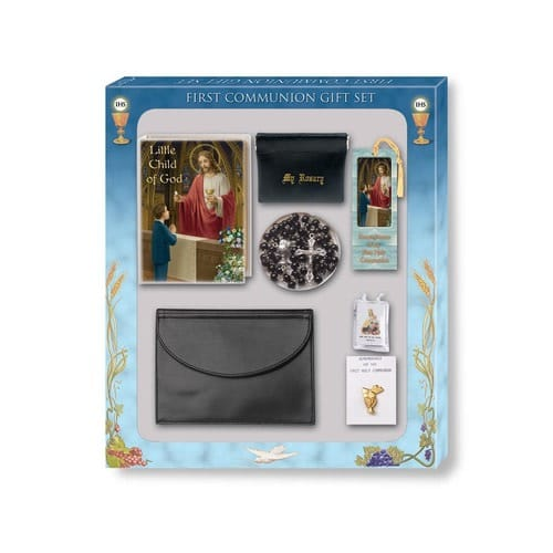 7-pc Deluxe Communion Gift Set - Boy