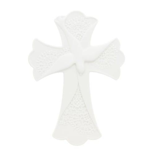 Porcelain Confirmation Cross