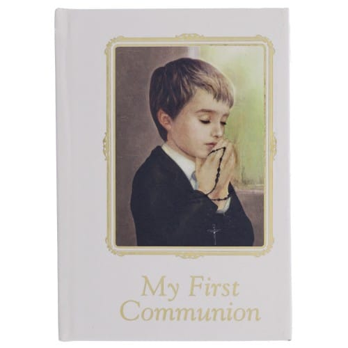 First Communion Prayer Book For Boys
