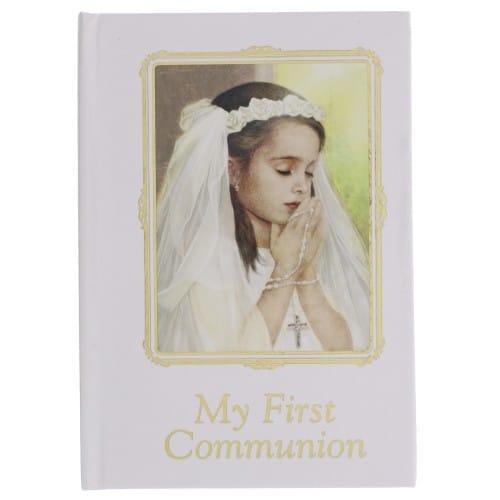 First Communion Prayer Book For Girls