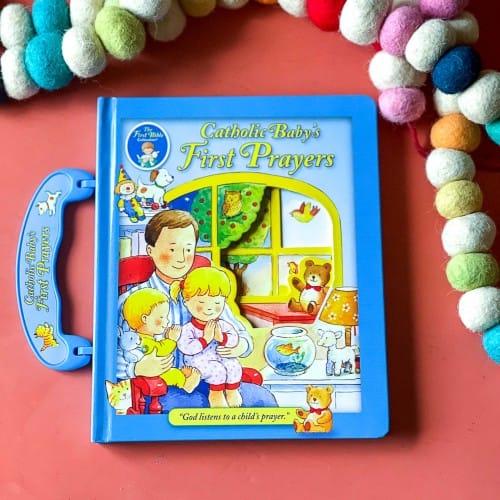 Catholic Baby's First Prayers - Handle Board Book