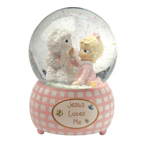 Precious Moments Musical Water Globe For Girls