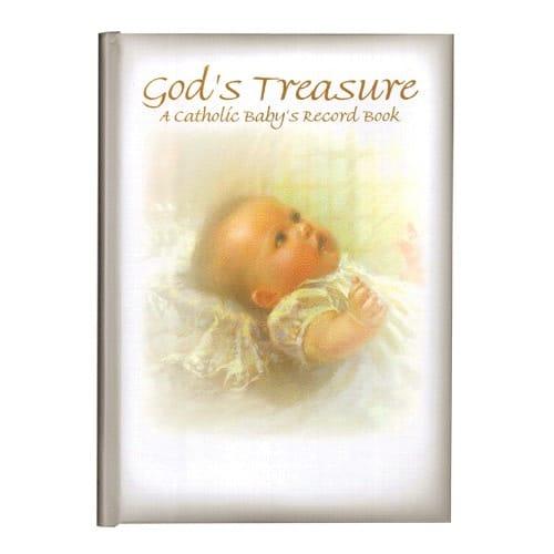 God's Treasure - A Catholic Baby's Record Book