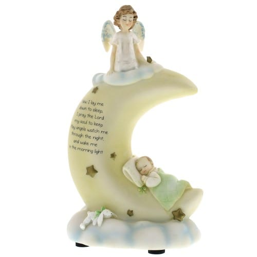Sweet Dreams - Lullaby Prayer - Figurine Statue Nightlight
