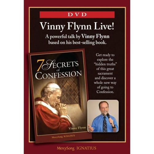 7 Secrets of Confession DVD by Vinny Flynn