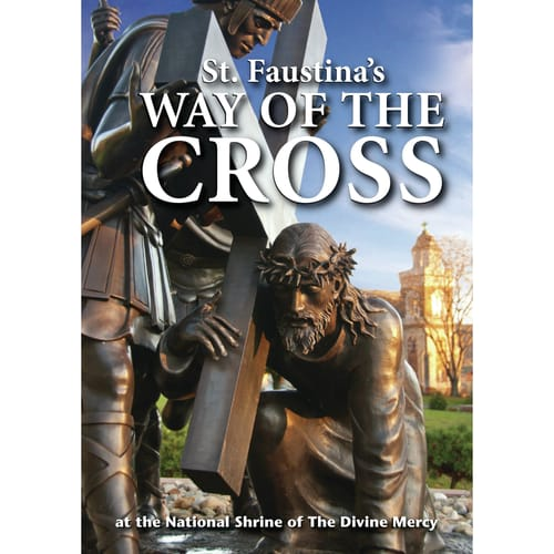 St. Faustina's Way of the Cross DVD by Fr. Joseph Roesch, MIC