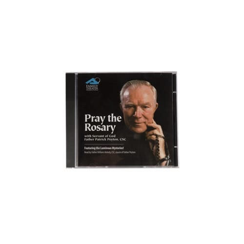 Pray the Rosary with Father Peyton (CD)