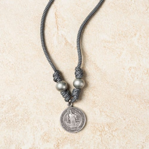 St. Benedict Paracord Necklace