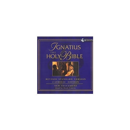 Ignatius Holy Bible - New Testament (RSV) CDs by Read by Mark...
