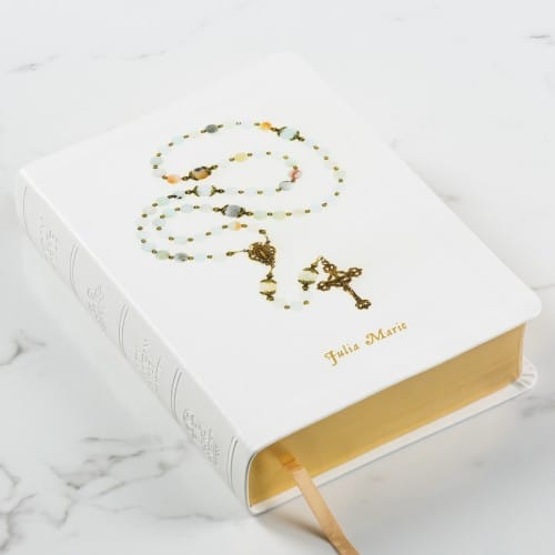 Personalized Rosary Bible