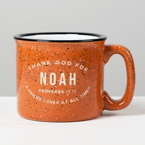 Personalized Thank God for You Terra Cotta Campfire Mug 9820116