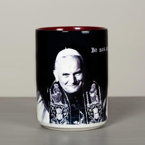 JPII Be Not Afraid Mug