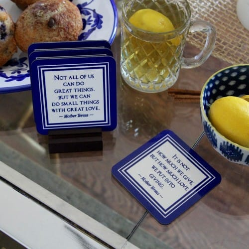 Mother Teresa Coasters