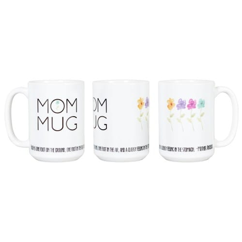 "Mom Mug - Mother Angelica ""Faith"" Quote"
