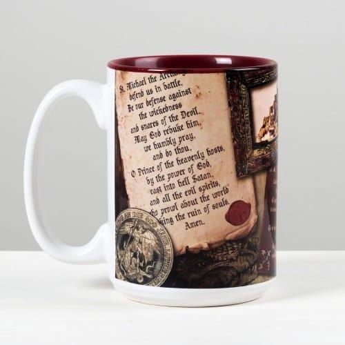 St. Michael Story Mug