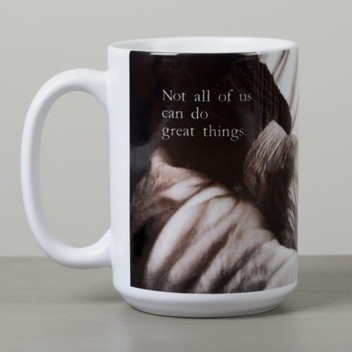 "Mother Teresa ""Small Things"" Mug"