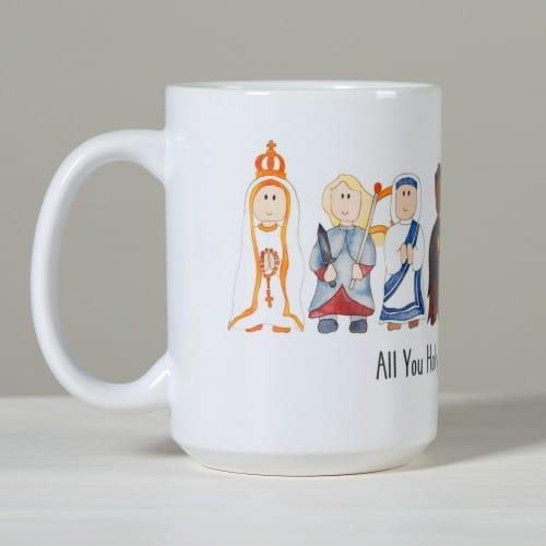 Junior Saints Litany of Saints Mug